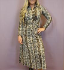 Ladybugs 8805 Travel long dress SNAKE