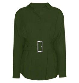 Ladybugs 9518 Belt blouse ARMY