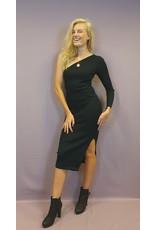Ladybugs 08393 - 2 Sharon one sleeve dress BLACK