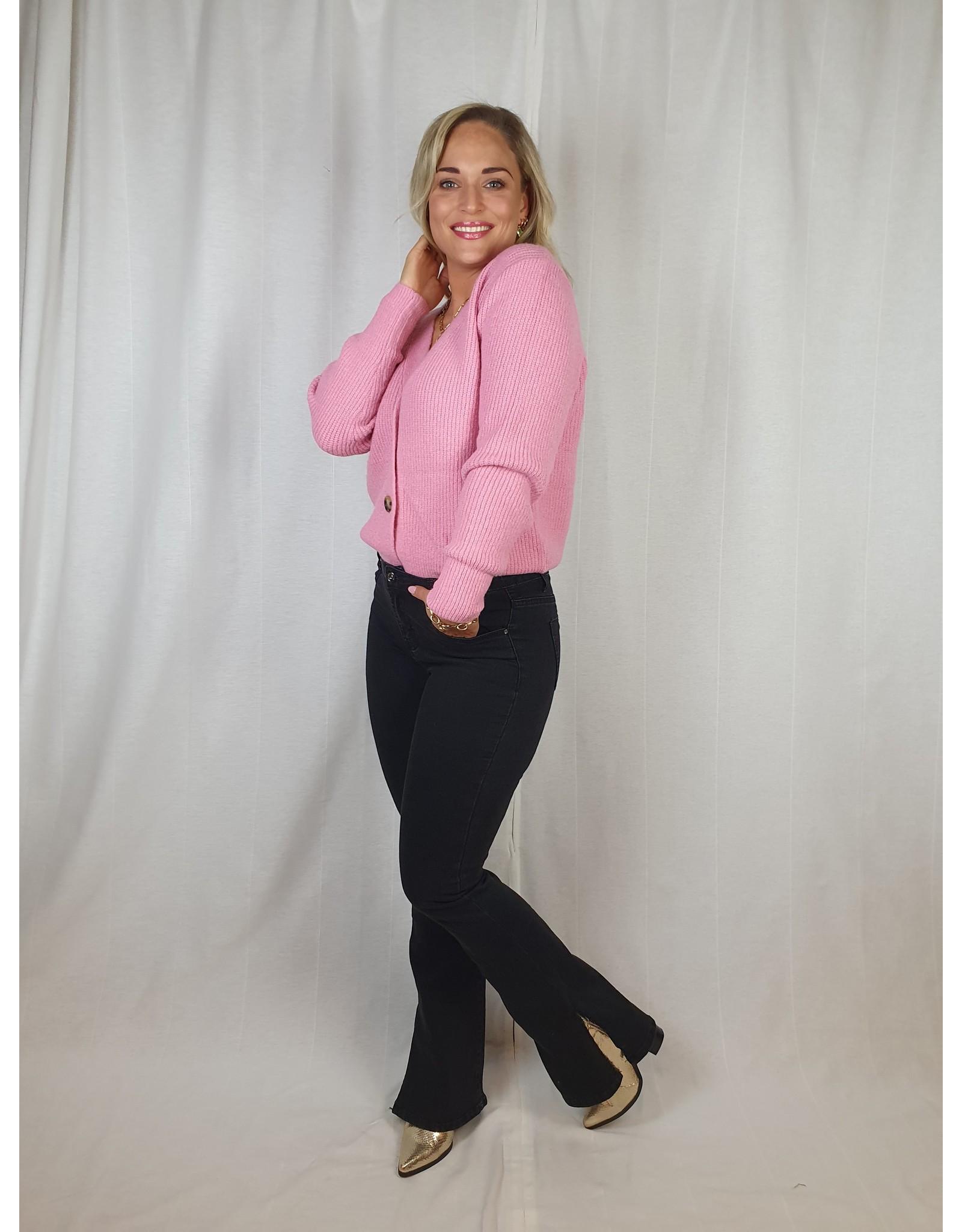 Ladybugs RD5781 Roxy Rose split jeans BLACK