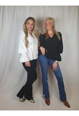Ladybugs RD5781 Roxy Rose split jeans BLUE