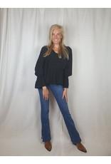 Ladybugs MC8860 Olivia blouse BLACK
