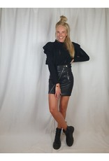 Ladybugs SK817 Romy leather skirt