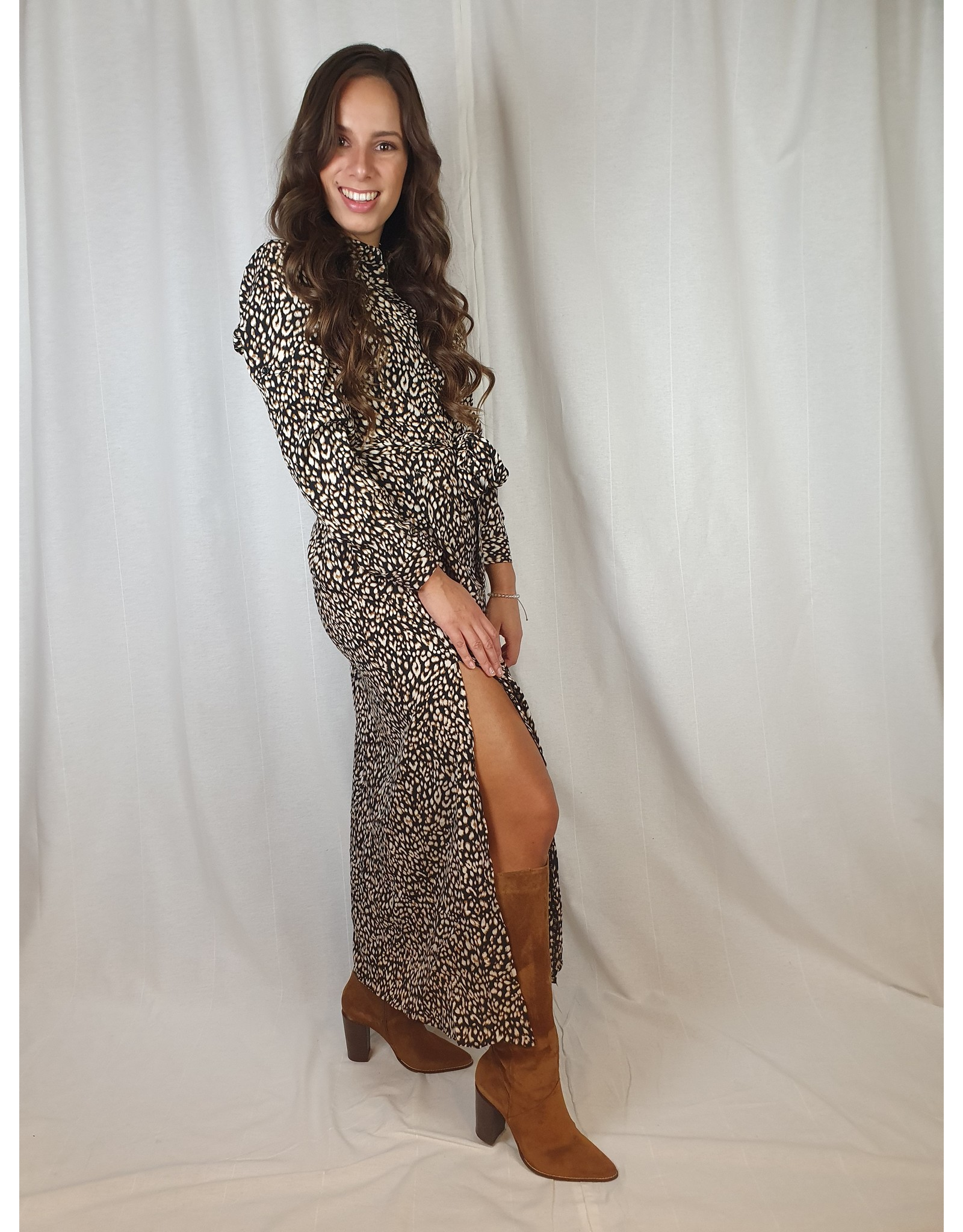 Ladybugs Alina maxi dress LEOPARD l3188