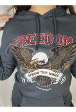 Azuka Freedom HOODIE DARK GREY