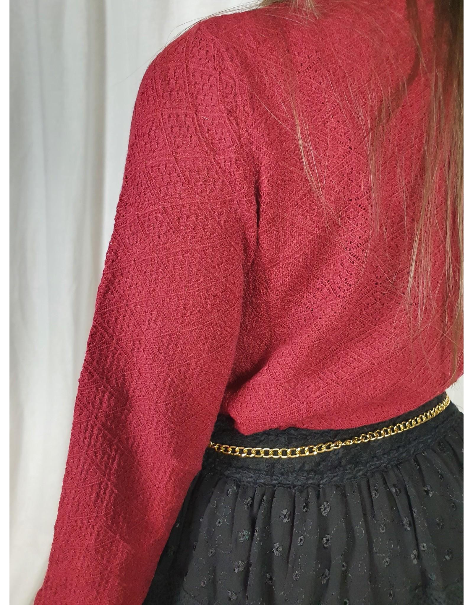 Ladybugs Rosiio knit RED