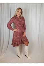 Ladybugs Belinda wikkel jurk RED