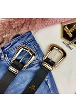 Ladybugs Star belt GOUD