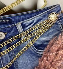 Ladybugs Chain belt GOLD