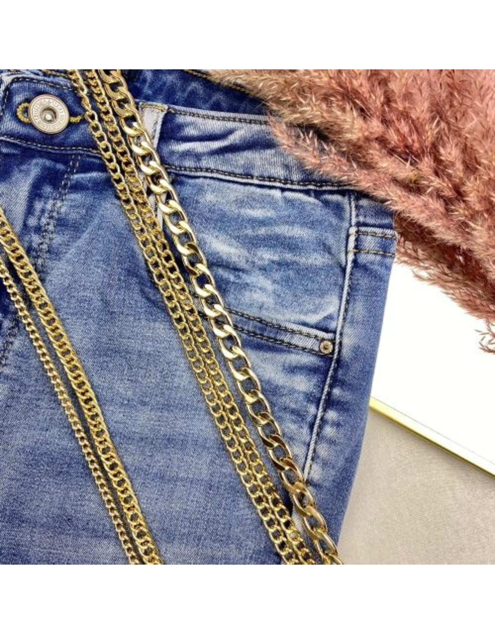 Ladybugs Belt chain  SMALL GOLD