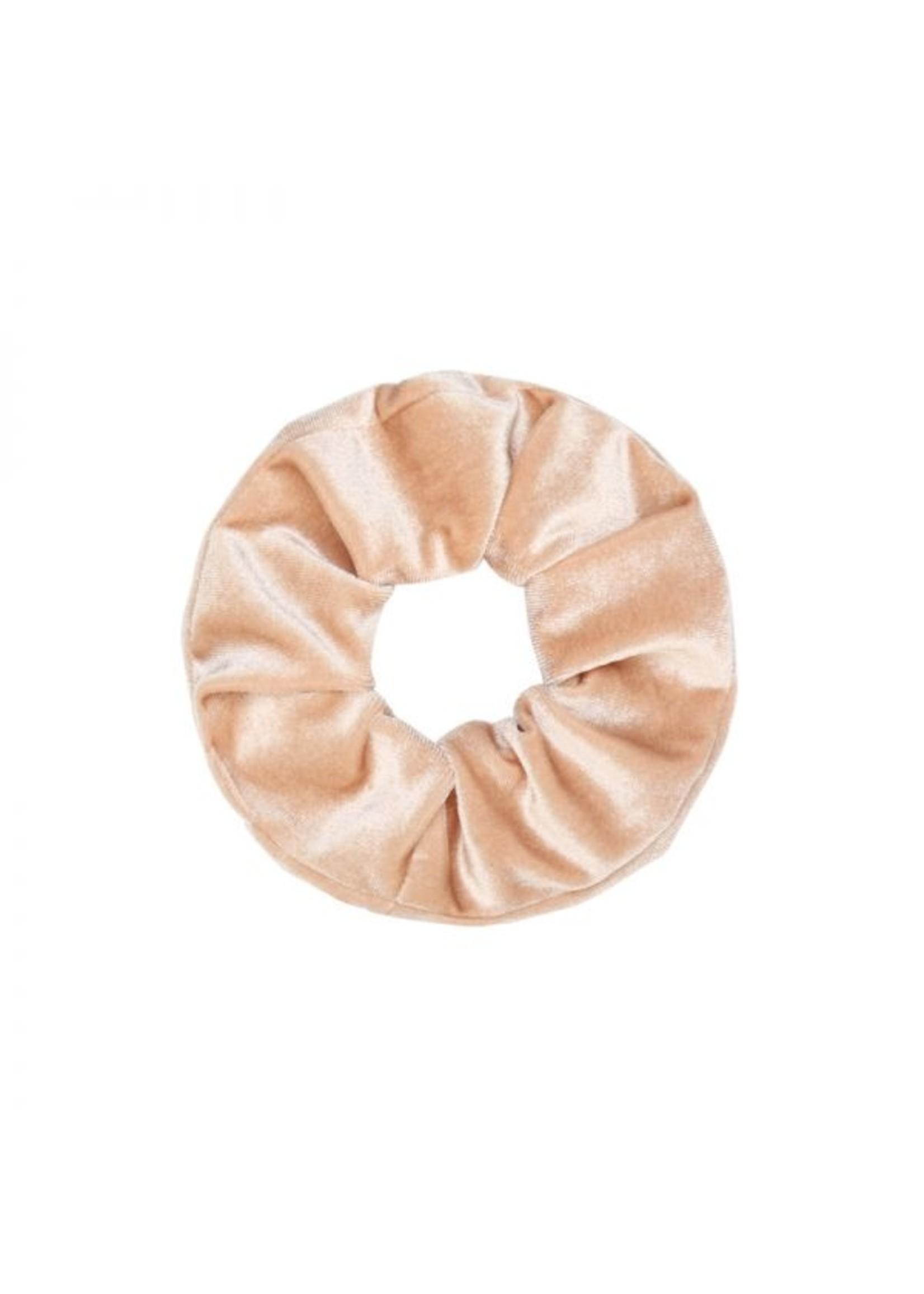 Ladybugs Scrunchie basic velvet SOFT BEIGE