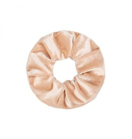 Ladybugs Scrunchie basic velvet SOFT BEIGE