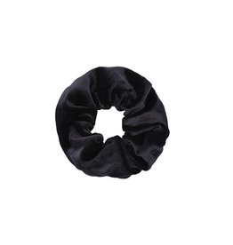 Ladybugs Scrunchie basic velvet BLACK