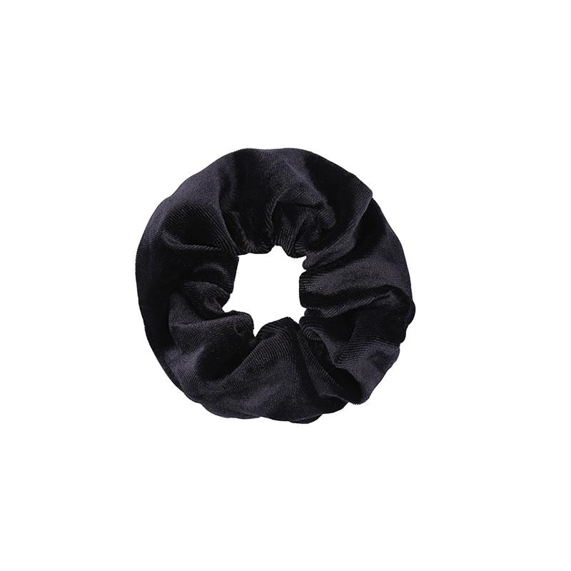 Ladybugs Scrunchie basic velvet BLACK