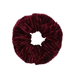 Ladybugs Scrunchie crushed velvet BORDEAUX