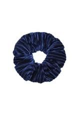 Ladybugs Scrunchie crushed velvet NAVY BLUE