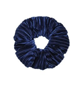 Ladybugs Scrunchie crushed velvet NAVY BLUE
