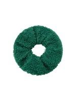 Ladybugs Scrunchie soft teddy GREEN