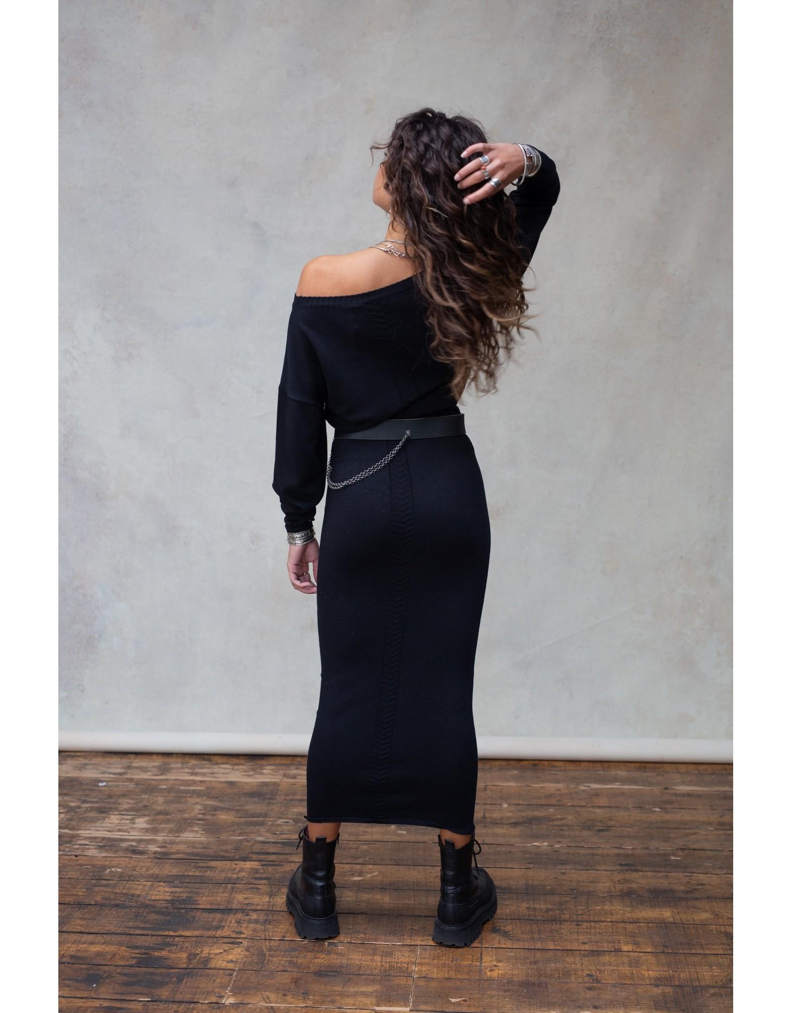 Moost Wanted Bella skirt BLACK