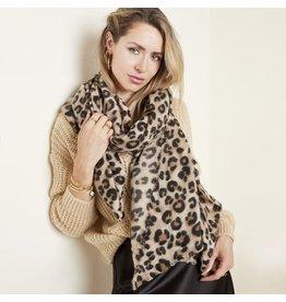 Ladybugs Scarf Soft leopard
