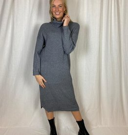 Ladybugs Lange baggy jurk Shirley grijs