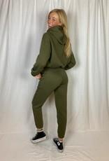 Ladybugs Army jogging broek met bijpassende cropped hoodie!