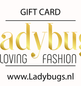Ladybugs Gift card €10,-