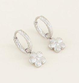 My Jewellery Oorringen violet zilver