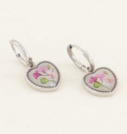 My Jewellery Oorringen wildflower hart