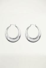 My Jewellery Big statement 70's hoops zilver