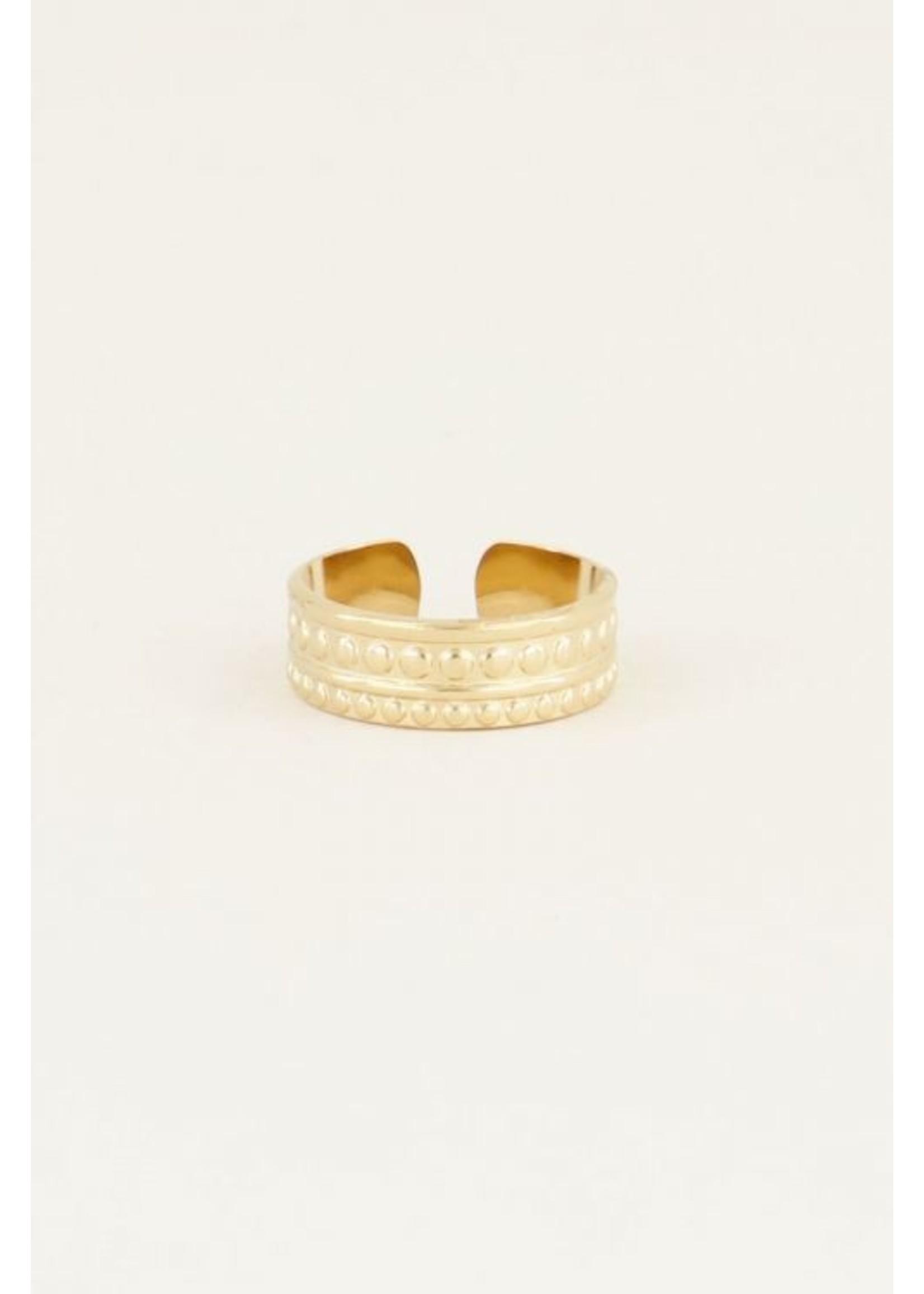 My Jewellery Ring patroon GOUD