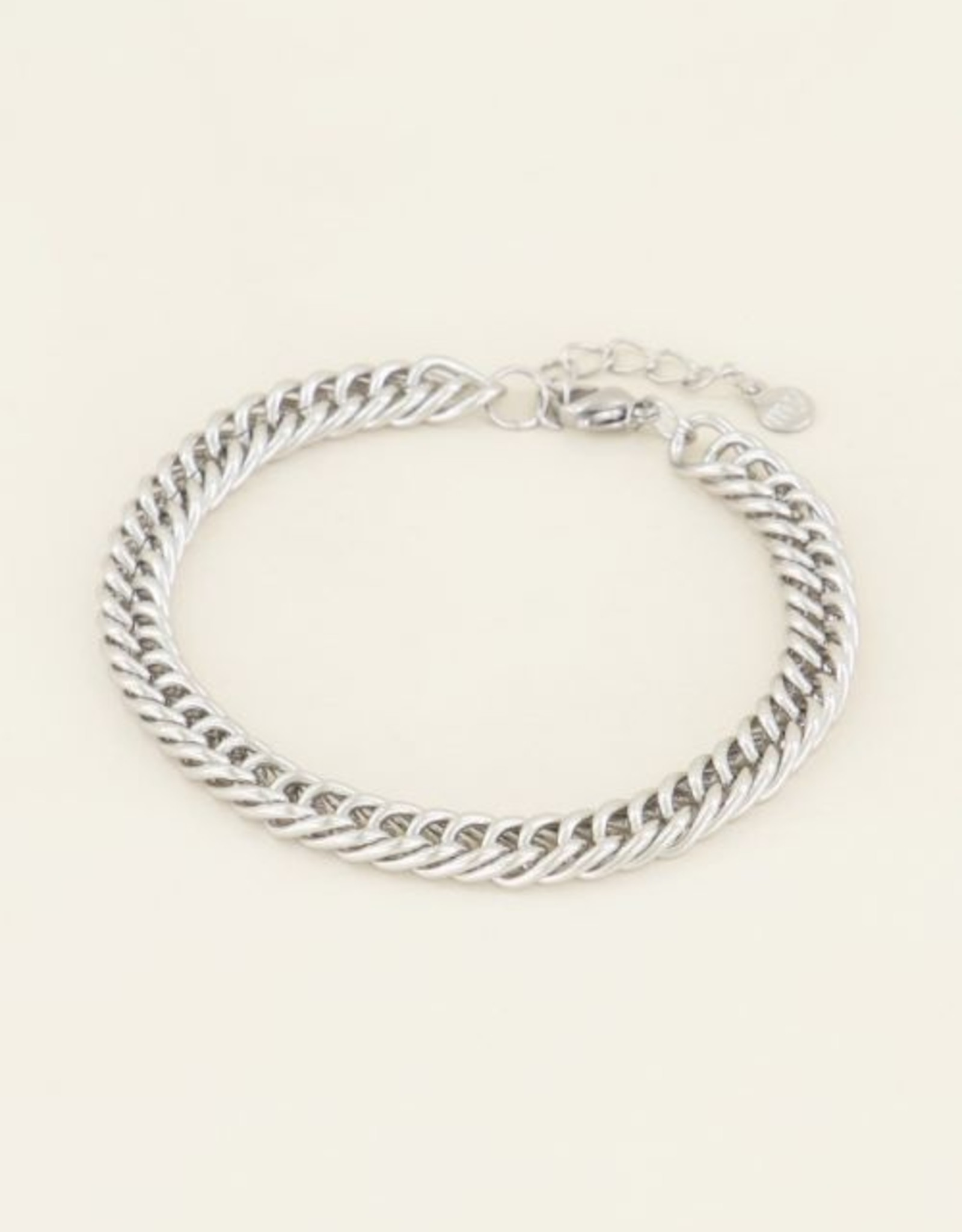 My Jewellery Armband brede schakels