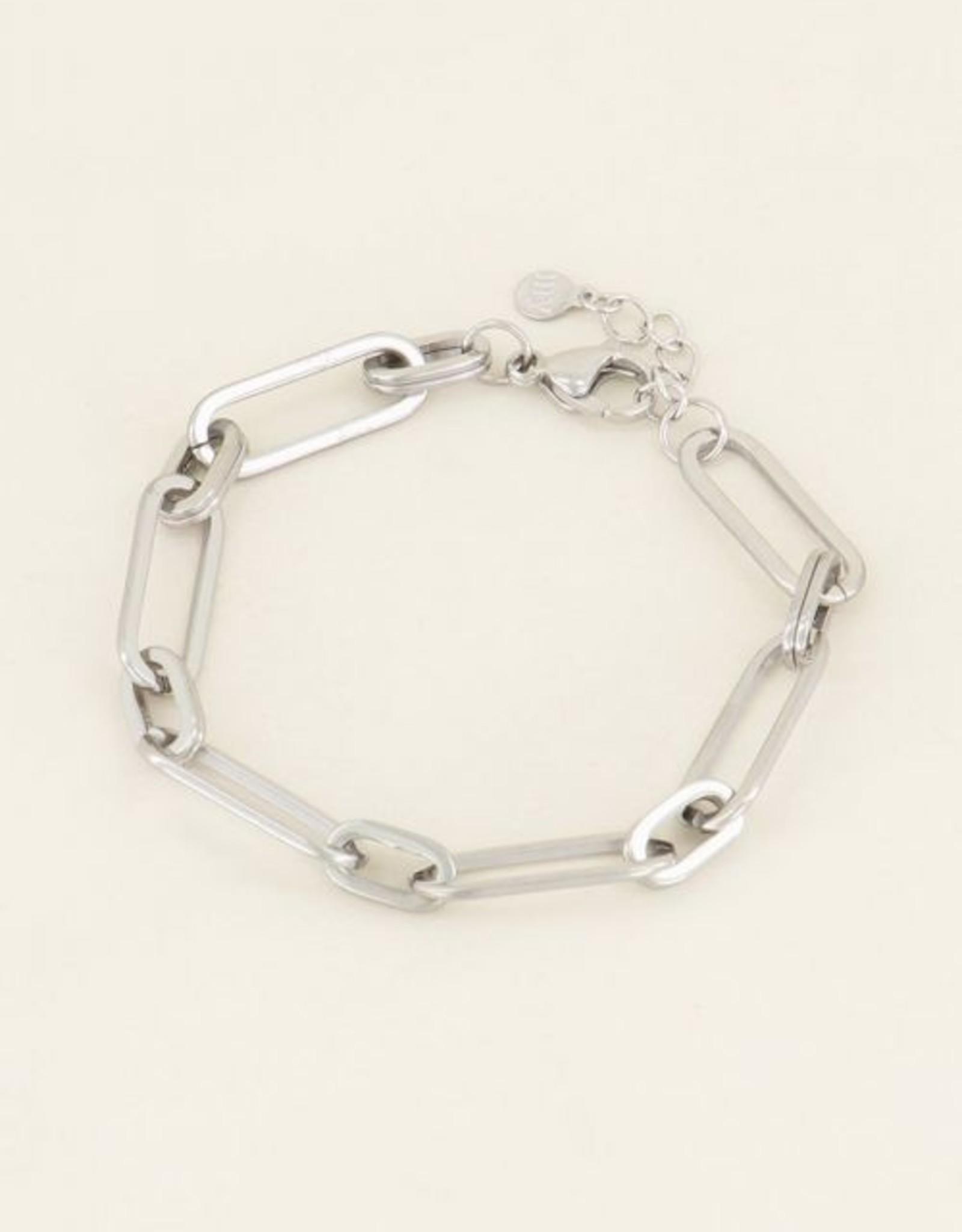 My Jewellery Armband grote ovale schakels