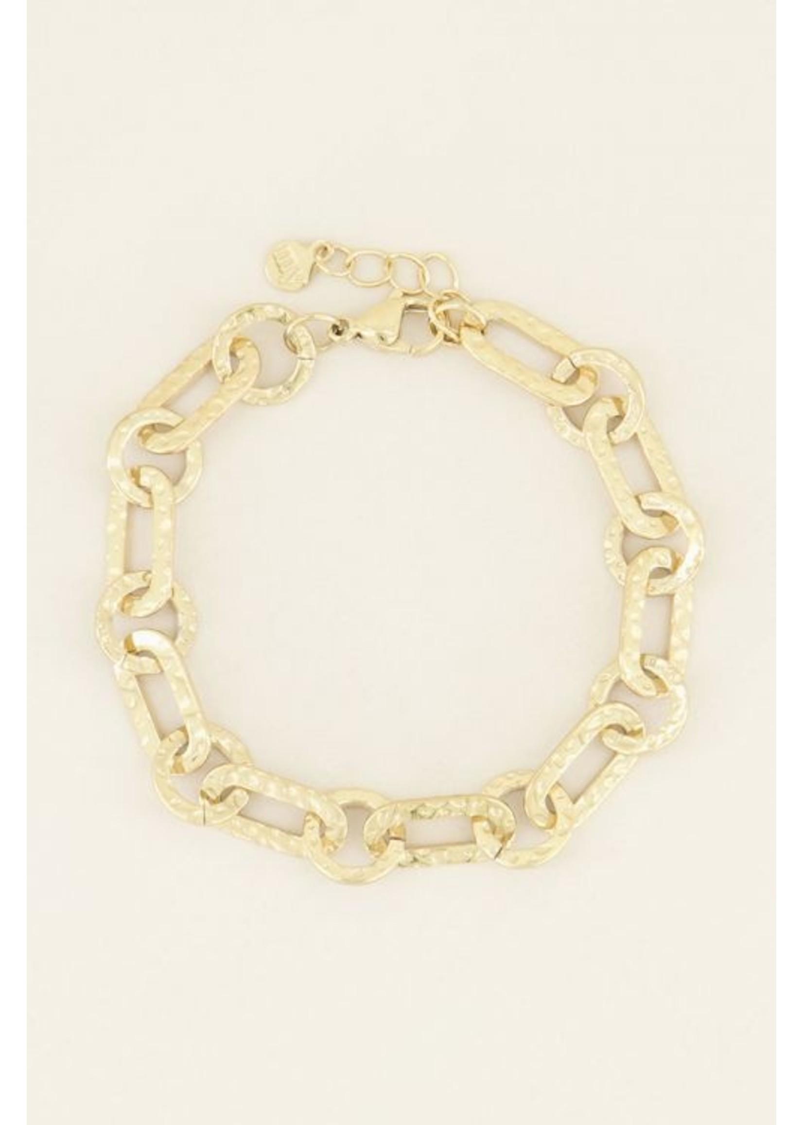 My Jewellery Armband kleine ovale schakels