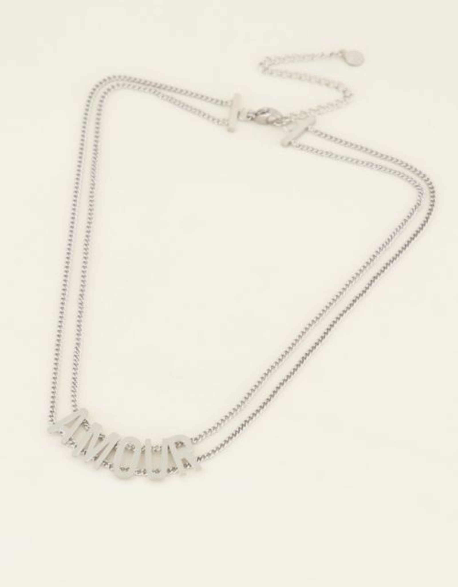 My Jewellery Choker amour zilver