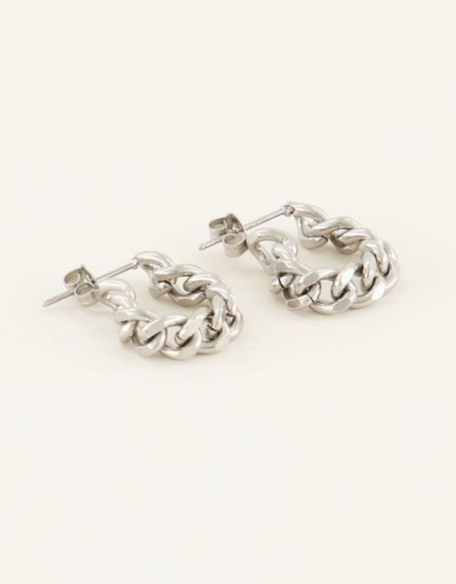 My Jewellery Oorbellen lange schakels