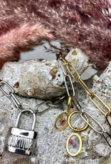 My Jewellery Ketting met slot L'amour zilver