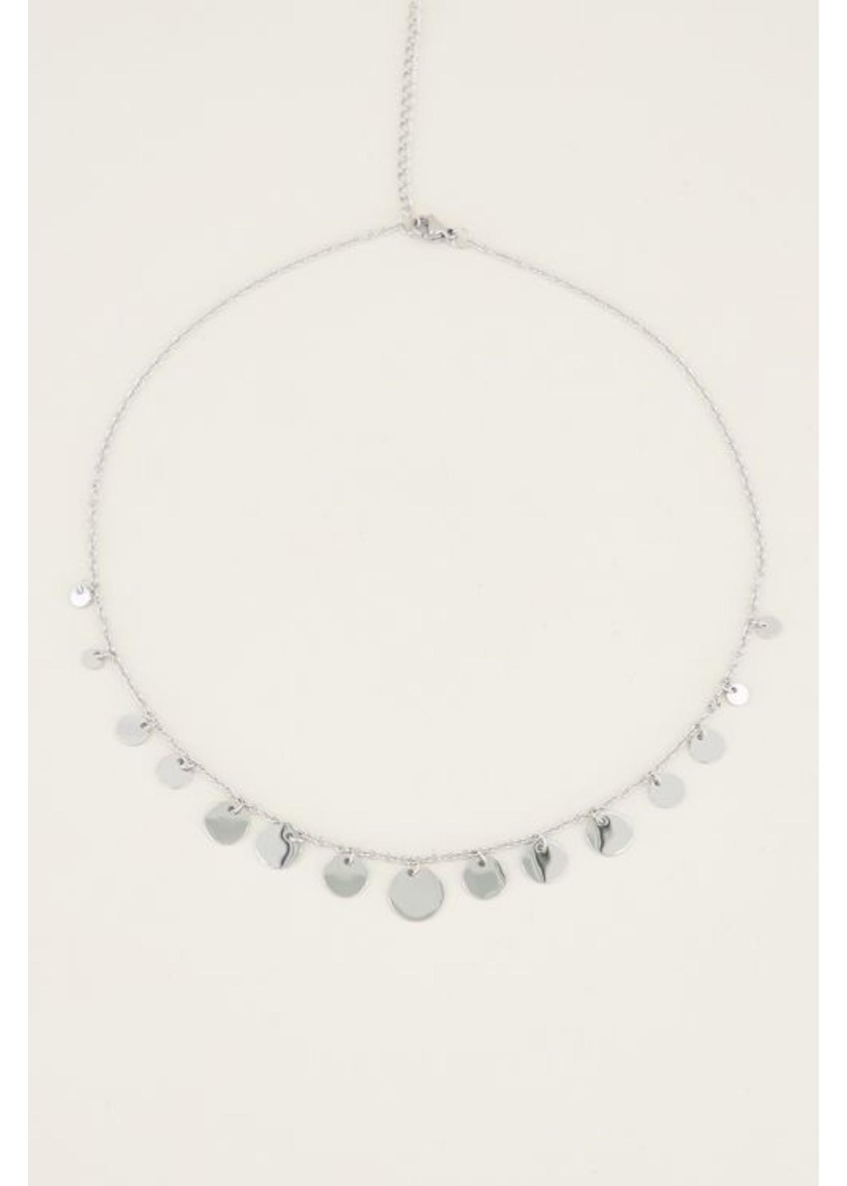 My Jewellery Ketting met kleine & grote muntjes