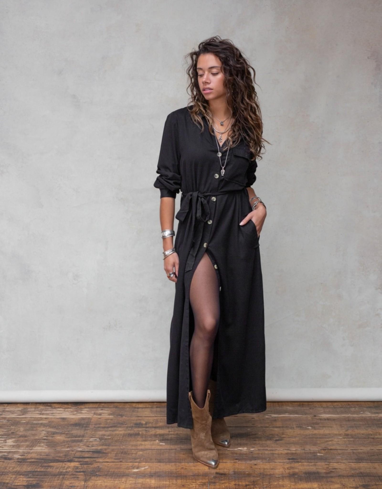 Moost Wanted Evita dress / cardigan BLACK