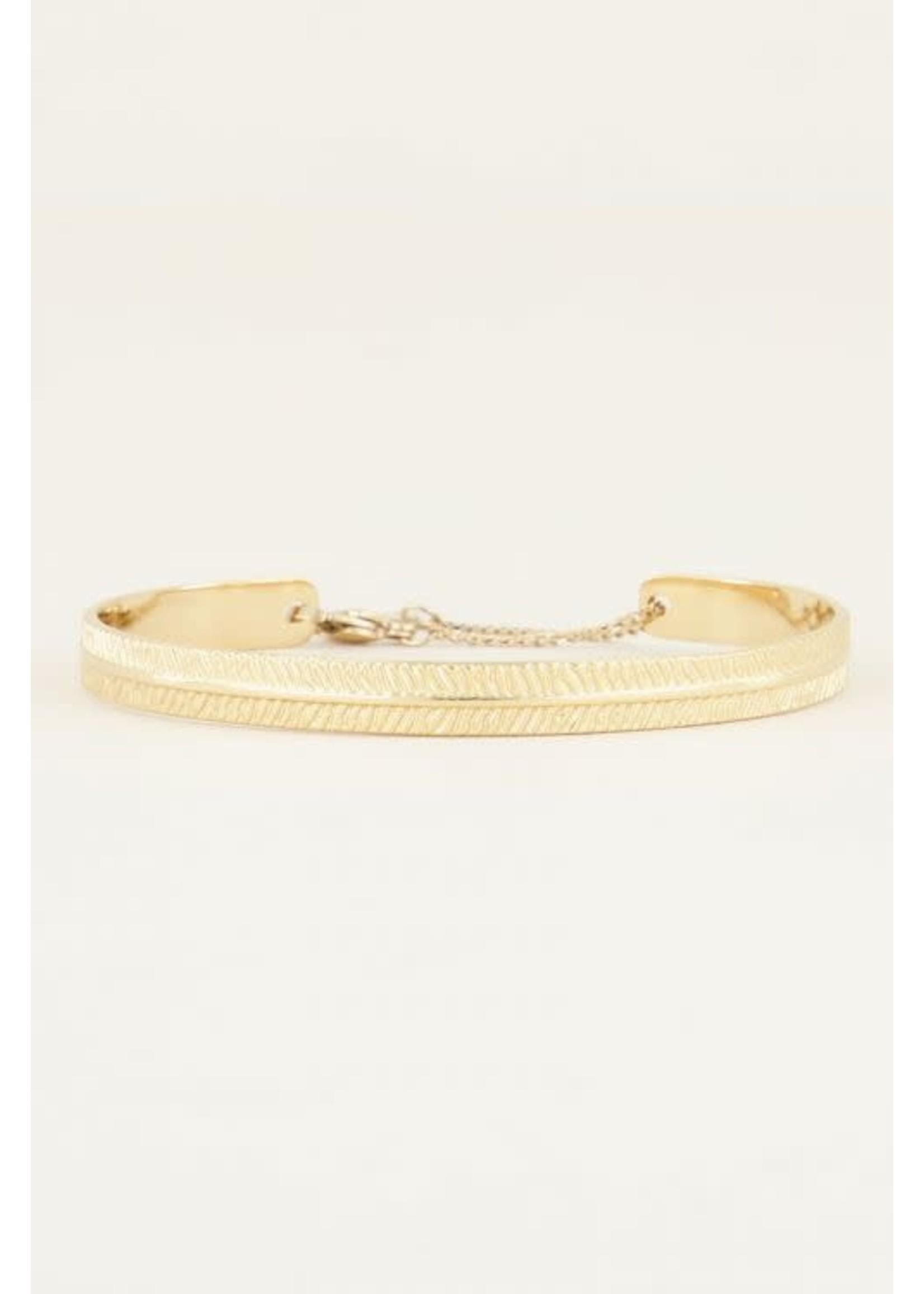 My Jewellery Bangle met streepjes