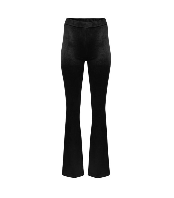 Ladybugs Velours broek met wijde pijpen. velvet flared pants VICKY
