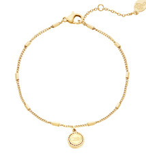 """Ladybugs Armband Create your own sunshine """"quotes to live by"""" GOLD"""