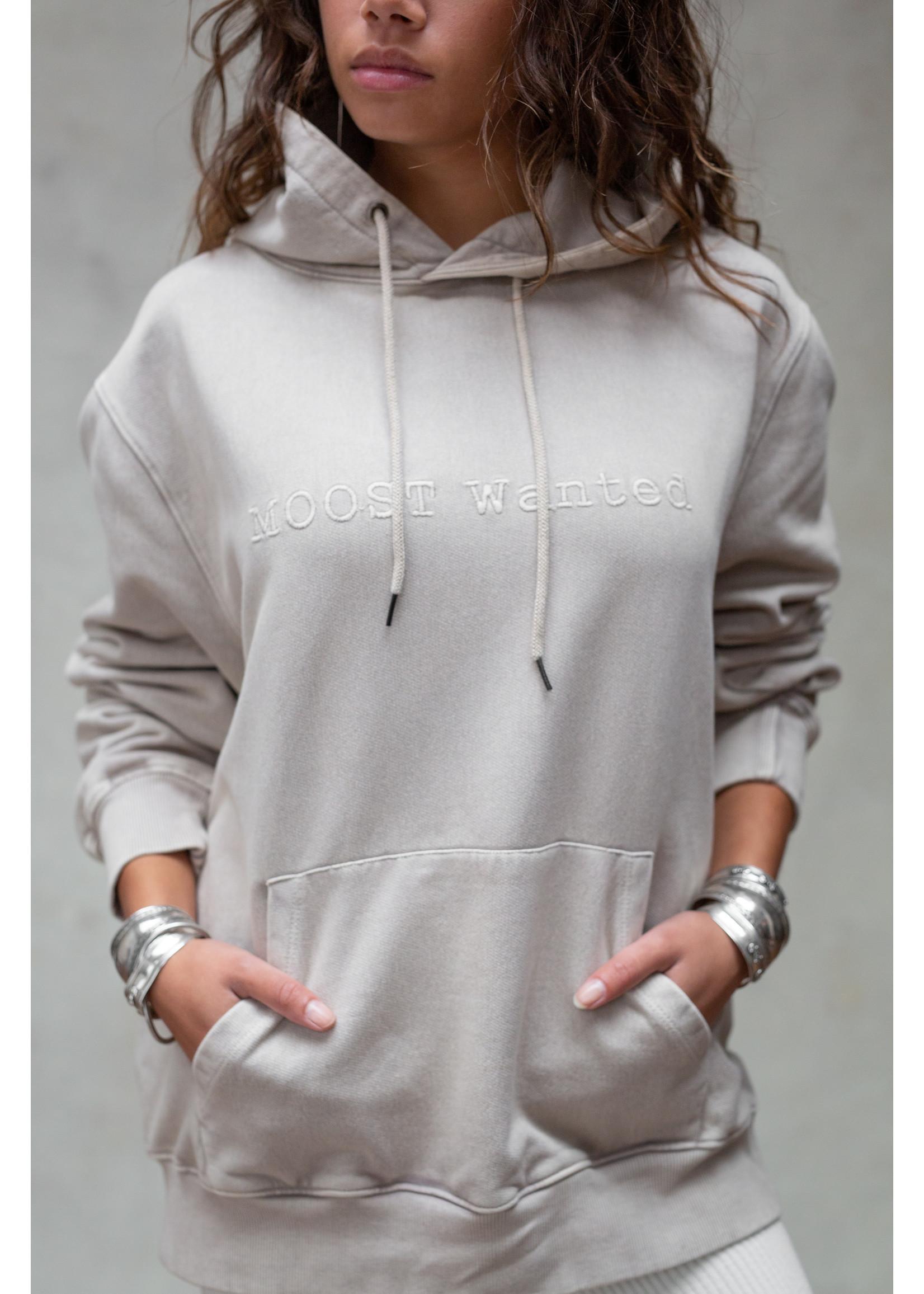 Moost Wanted MOOST Wanted unisex hoodie beige Passion hoodie Unisex STONE BEIGE