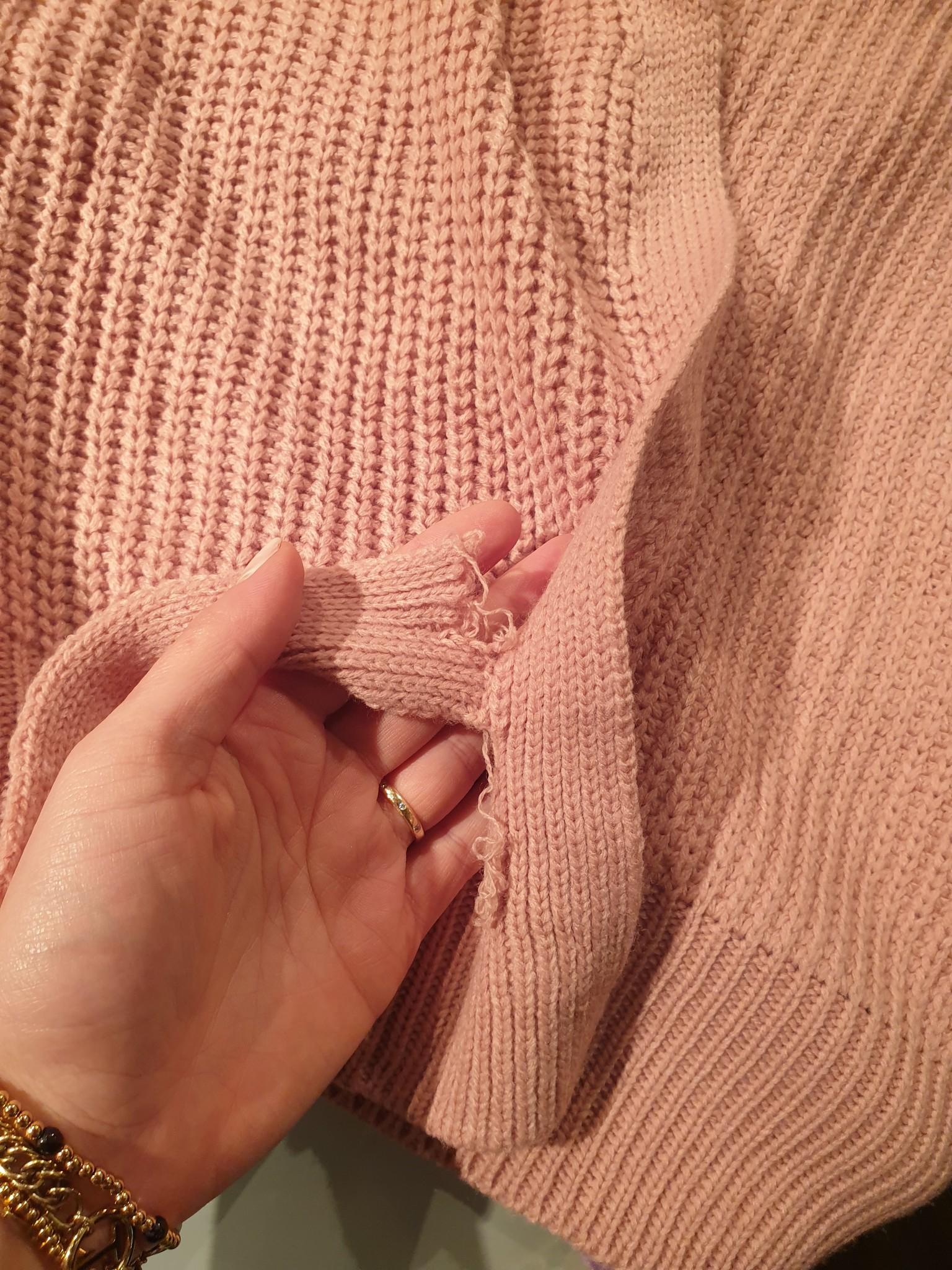 Ladybugs Lynn wrap knit  OUD ROZE