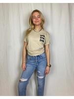 Ladybugs Oversized shirt dior print voor en achter RULA NUDE