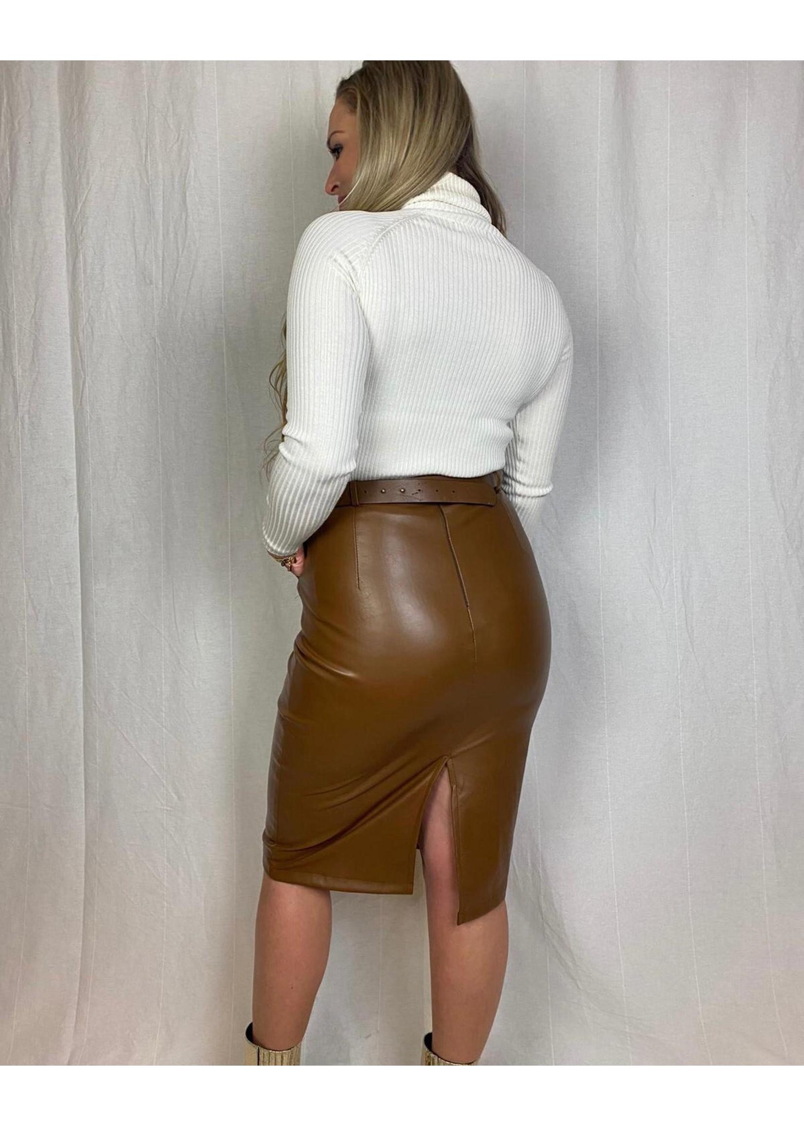 Ladybugs Olivia leather skirt CONGAC