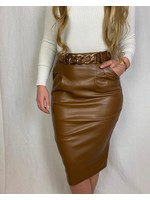 Ladybugs Olivia leather skirt CONGAC