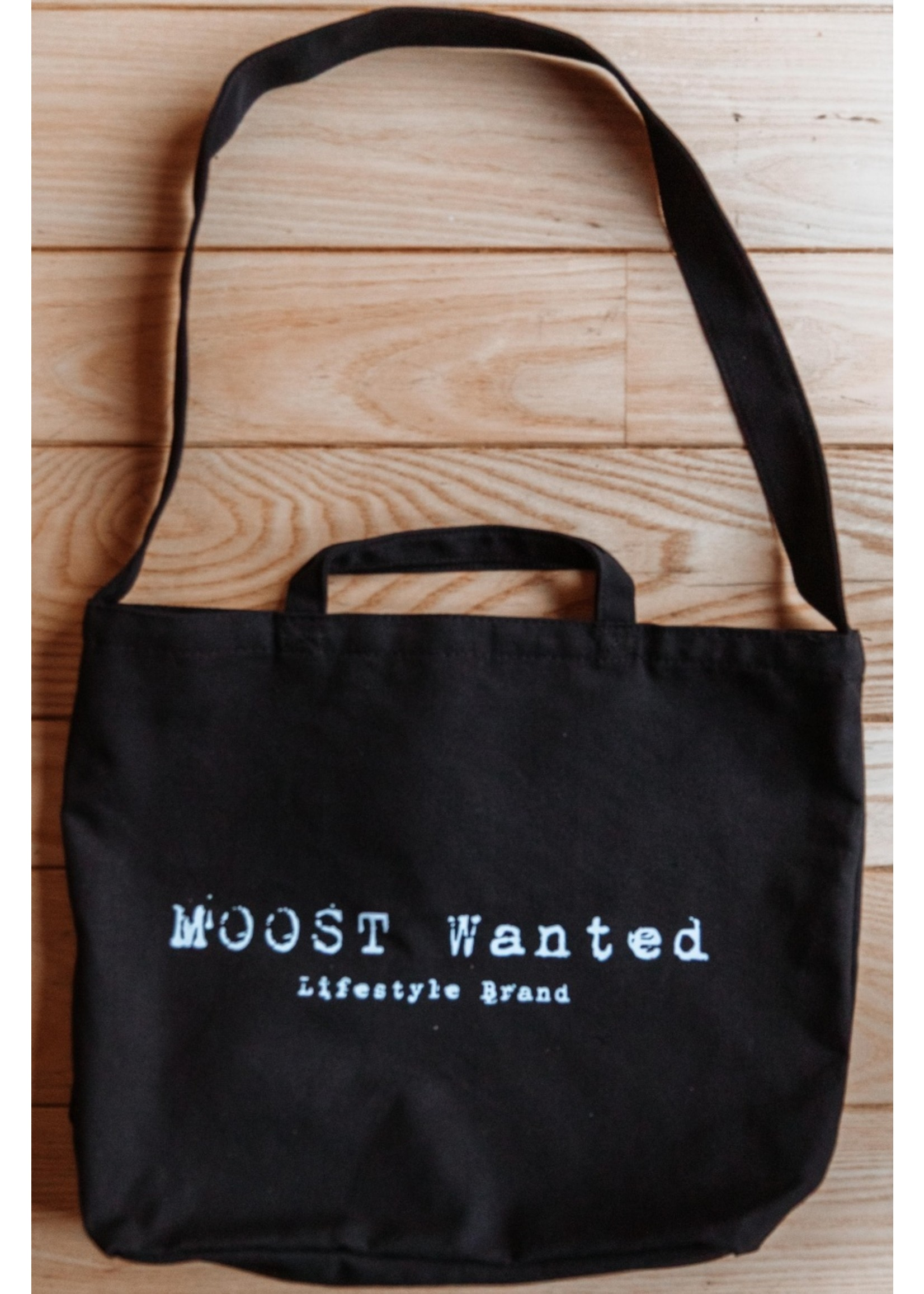 Moost Wanted Canvas tas MOOST Wanted BLACK