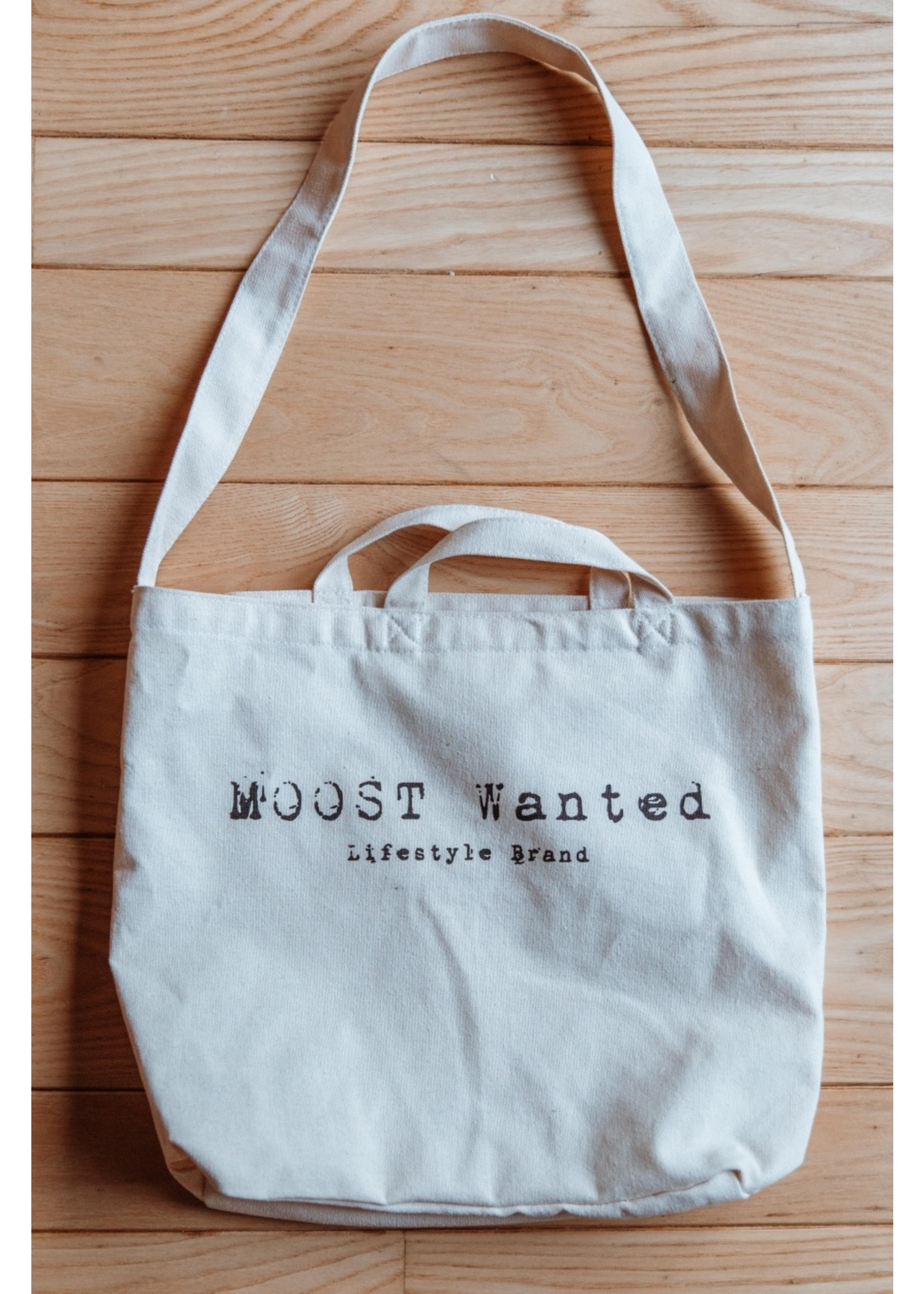 Moost Wanted Canvas tas MOOST Wanted BEIGE