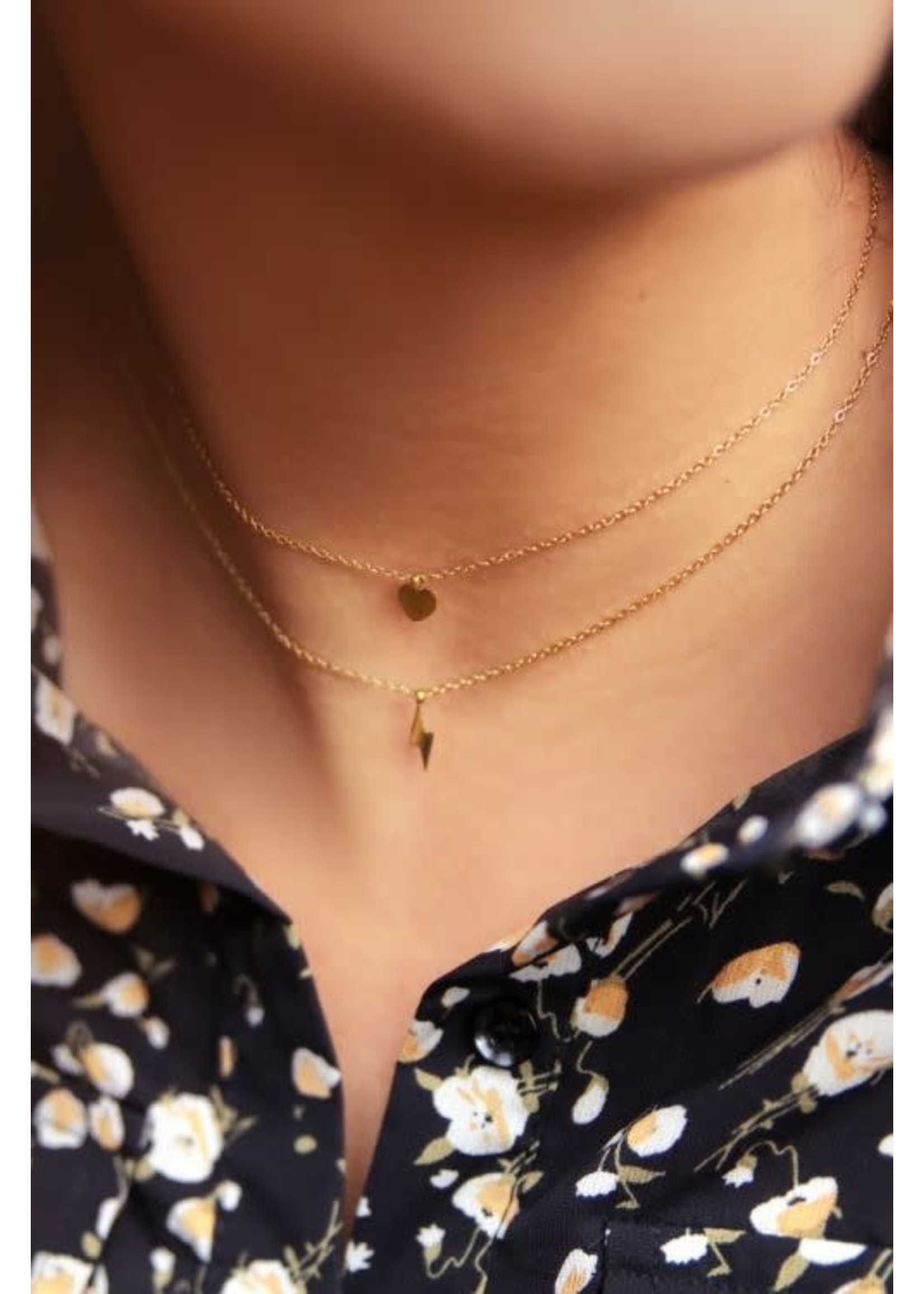 My Jewellery Klein kettinkje met hartje